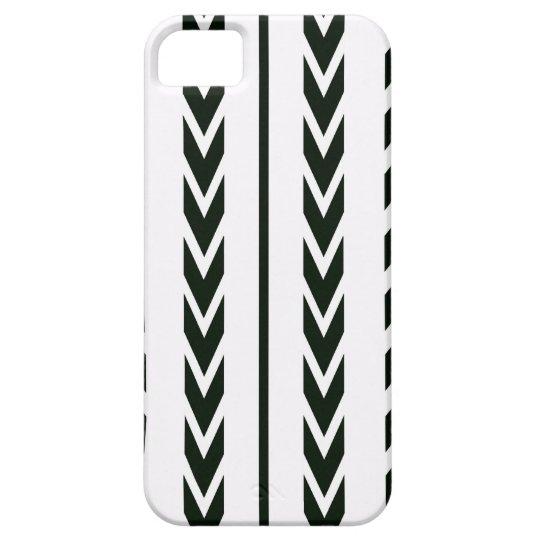 Black Tire Tread iPhone 5 Cover