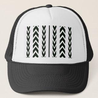 Black Tire Tread Trucker Hat