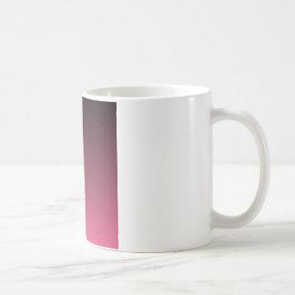 Black to Dark Pink Horizontal Gradient Coffee Mug