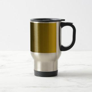 Black to Deep Lemon Vertical Gradient Mug