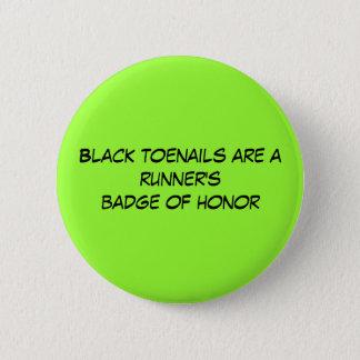 Black toenails are a runner's badge of honor