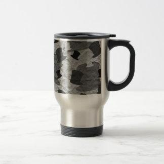 Black Top Hat Camo Travel Mug