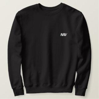 Black traditional Sweat Embroidered Sweatshirt