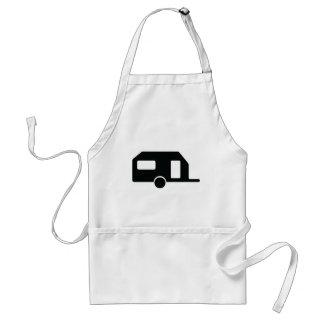 black trailer icon standard apron