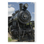 Black Train Poster Print