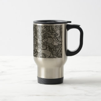 Black Travel Mug