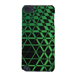 Black Triangles (Green) iPod Touch Case
