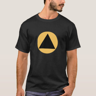 Black TriangleTrans The MUSEUM Zazzle Gifts T-Shirt