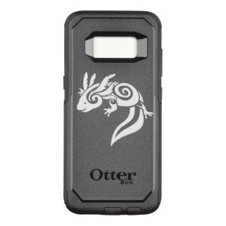Black Tribal Axolotl Mexican Salamander OtterBox Commuter Samsung Galaxy S8 Case