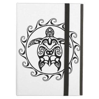 Black Tribal Turtle iPad Air Case