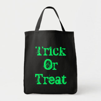 Black Trick Or Treat Bag