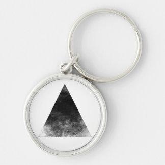 Black trifishes key ring