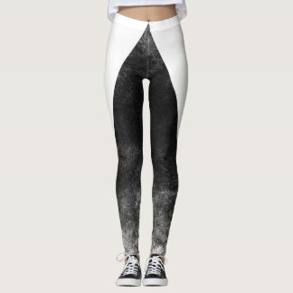 Black trifishes leggings
