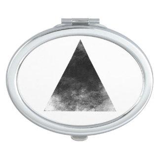Black trifishes makeup mirrors