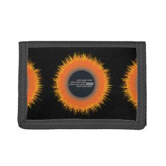 Black TriFold Nylon Wallet CHAOS SUN