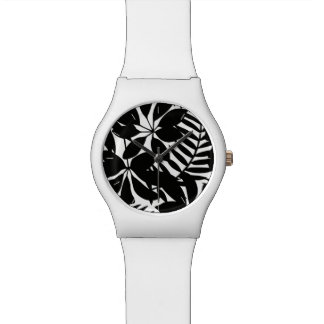 Black tropical watch