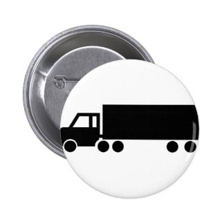black truck icons pinback button