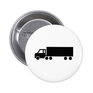 black truck icons pinback buttons