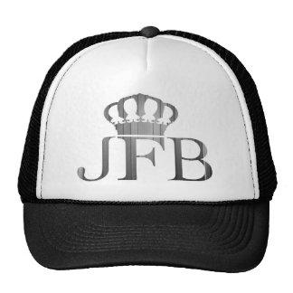 Black Trucker Hat JFB logo