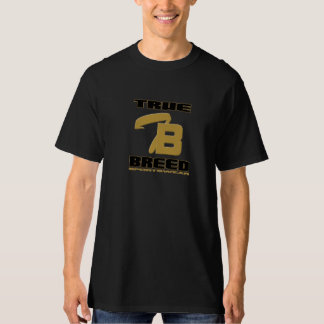 Black True Breed Gold Logo T-shirt