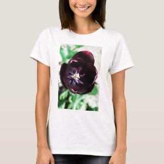 Black tulip macro T-Shirt