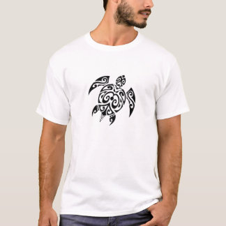 Black turtle 2 one both sides T-Shirt