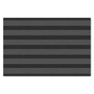 Black Tuxedo Charcoal Grey Fat Stripe Formal Tissue Paper