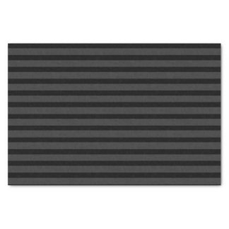 Black Tuxedo Charcoal Grey Stripe Formal Tissue Paper