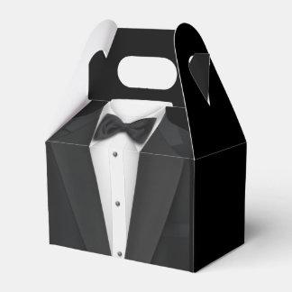 Black Tuxedo Favour Box