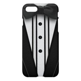 Black Tuxedo with Bow Tie iPhone 7 Case