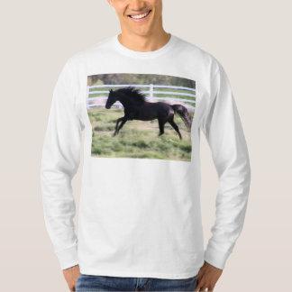 Black TWH Stallion Running T-Shirt