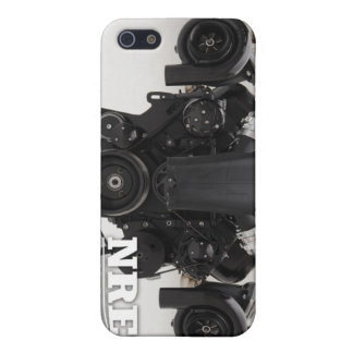Black Twin Turbo Engine iPhone 5/5S Cover