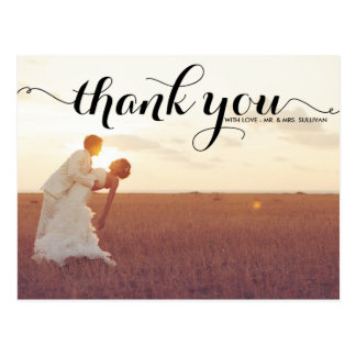 Browse the Photo Thank You Postcards Collection and personalise by colour, design or style.