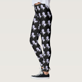 Black Unicorn Leggings