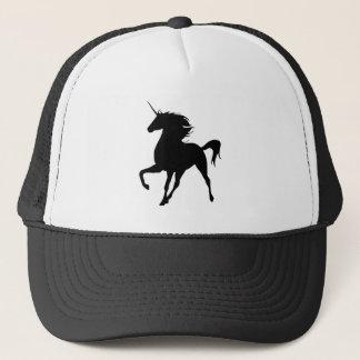 Black Unicorn Silhouette Hat