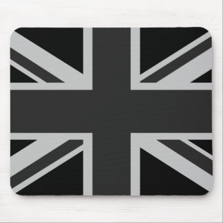 Black Union Jack Mousepad