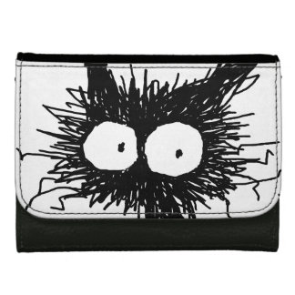 Black Unkempt Kitten GabiGabi Wallet For Women