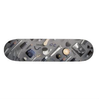 Black Vanity Table 21.6 Cm Old School Skateboard Deck