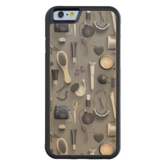 Black Vanity Table Carved Maple iPhone 6 Bumper Case