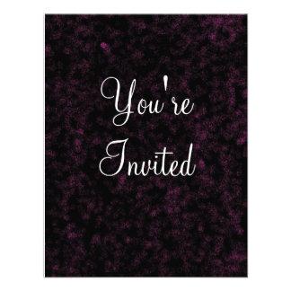 black velvet You re Invited Custom Invite