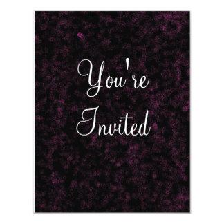 black velvet, You're, Invited Custom Invite