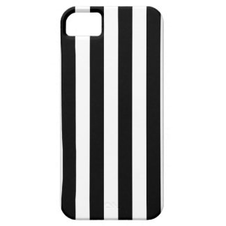 Black Vertical Stripes iPhone 5 Cases