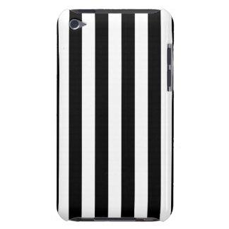 Black Vertical Stripes iPod Case-Mate Case