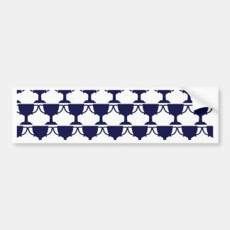 Black Victorian Lace Bumper Sticker