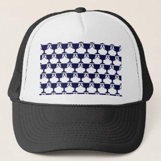 Black Victorian Lace Trucker Hat
