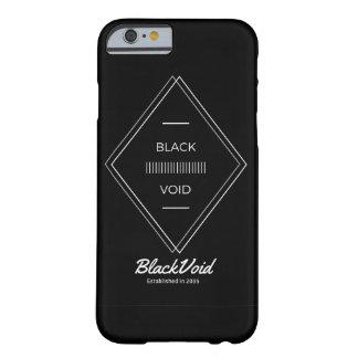 BLACK VOID BLACK SOLID PHONE CASE