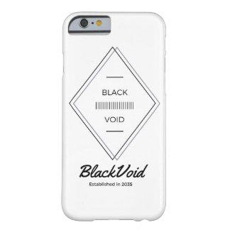 BLACK VOID SOLID PHONE CASE