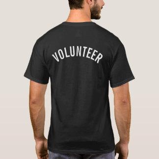 Black Volunteer T-Shirt