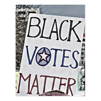 Black Votes Matter Postcard