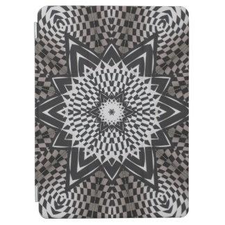 black vs white Mandala iPad Air Cover